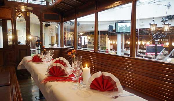 Unser Restaurant für Ihre Firmen- und Familienfeier in Dresden